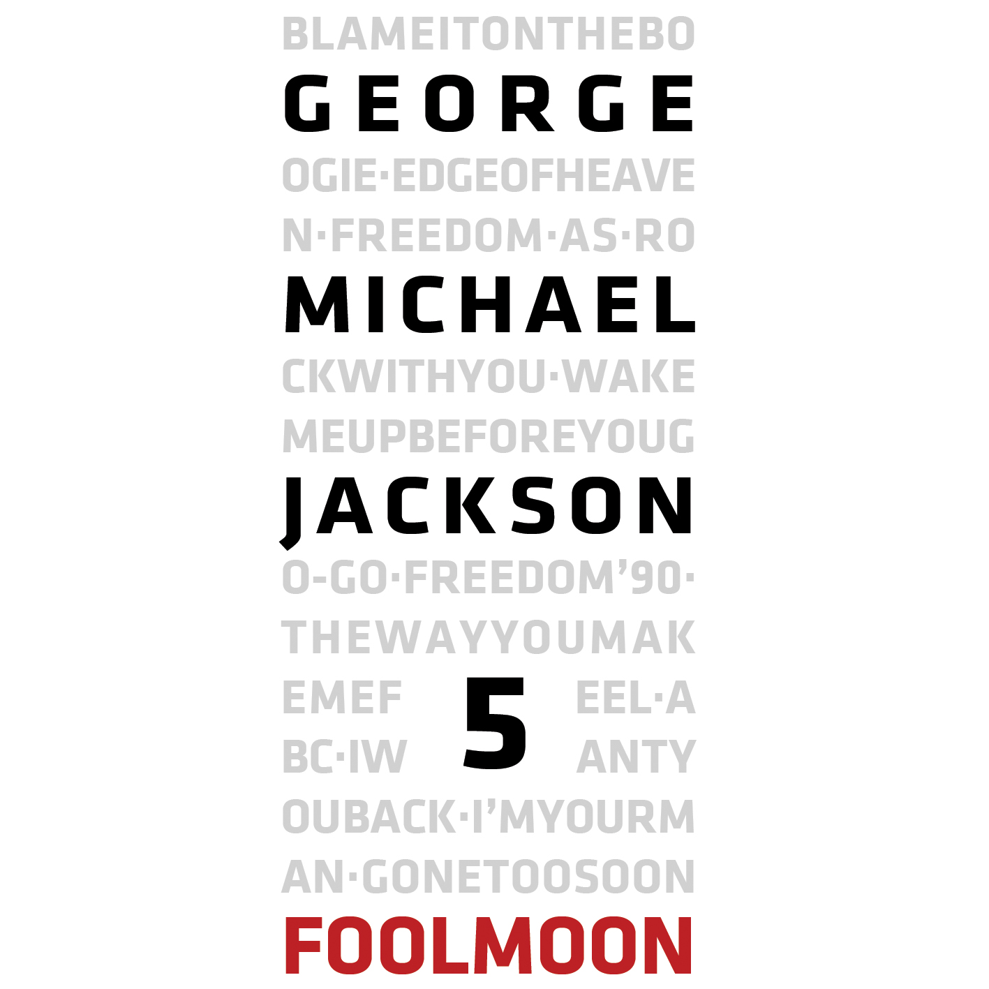 Fool Moon GeorgeMichaelJackson5