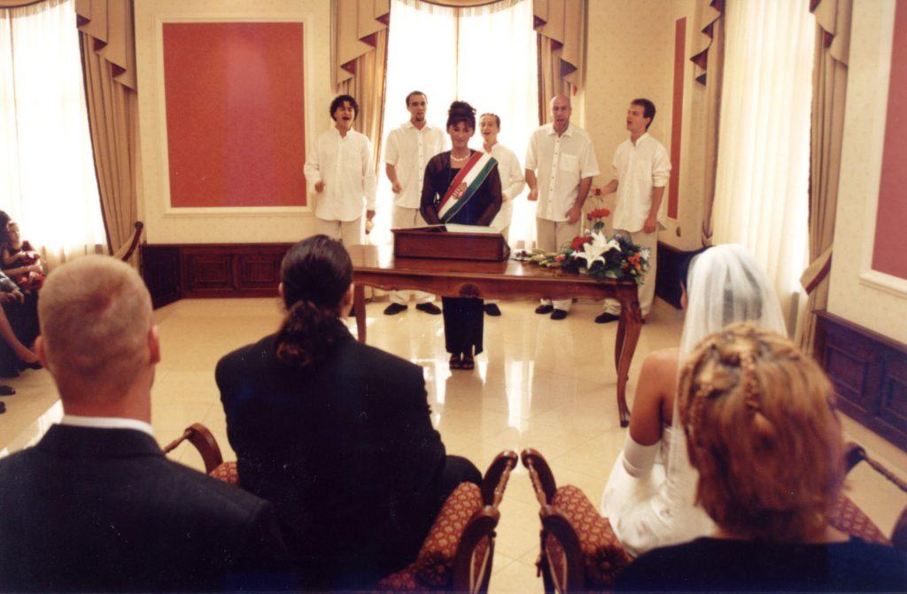 Fool Moon 2002 wedding