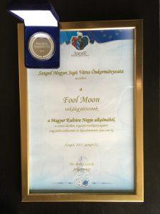 Fool Moon - Szeged Kölcsey prize