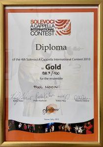 Fool Moon - Solevoci Gold diploma